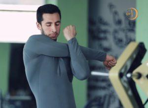 упражнения на растяжку плеча