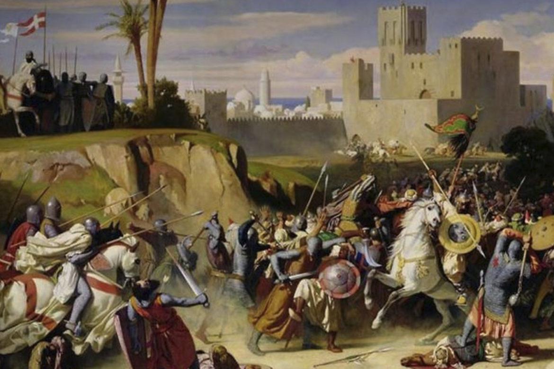 Первый и второй крестовые походы. Битва за Иерусалим