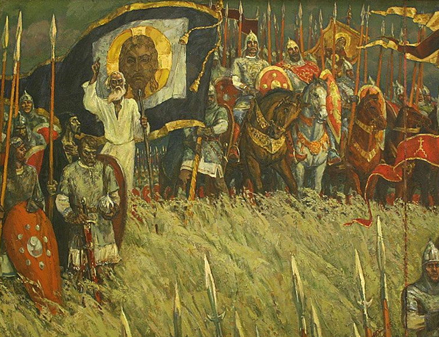 себе, особенно русский воин куликовской битвы картинки так нравится