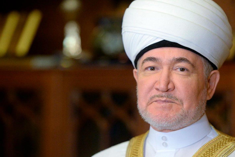 Официальное поздравление муфтию